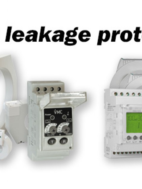 Industrial earth leakage protection